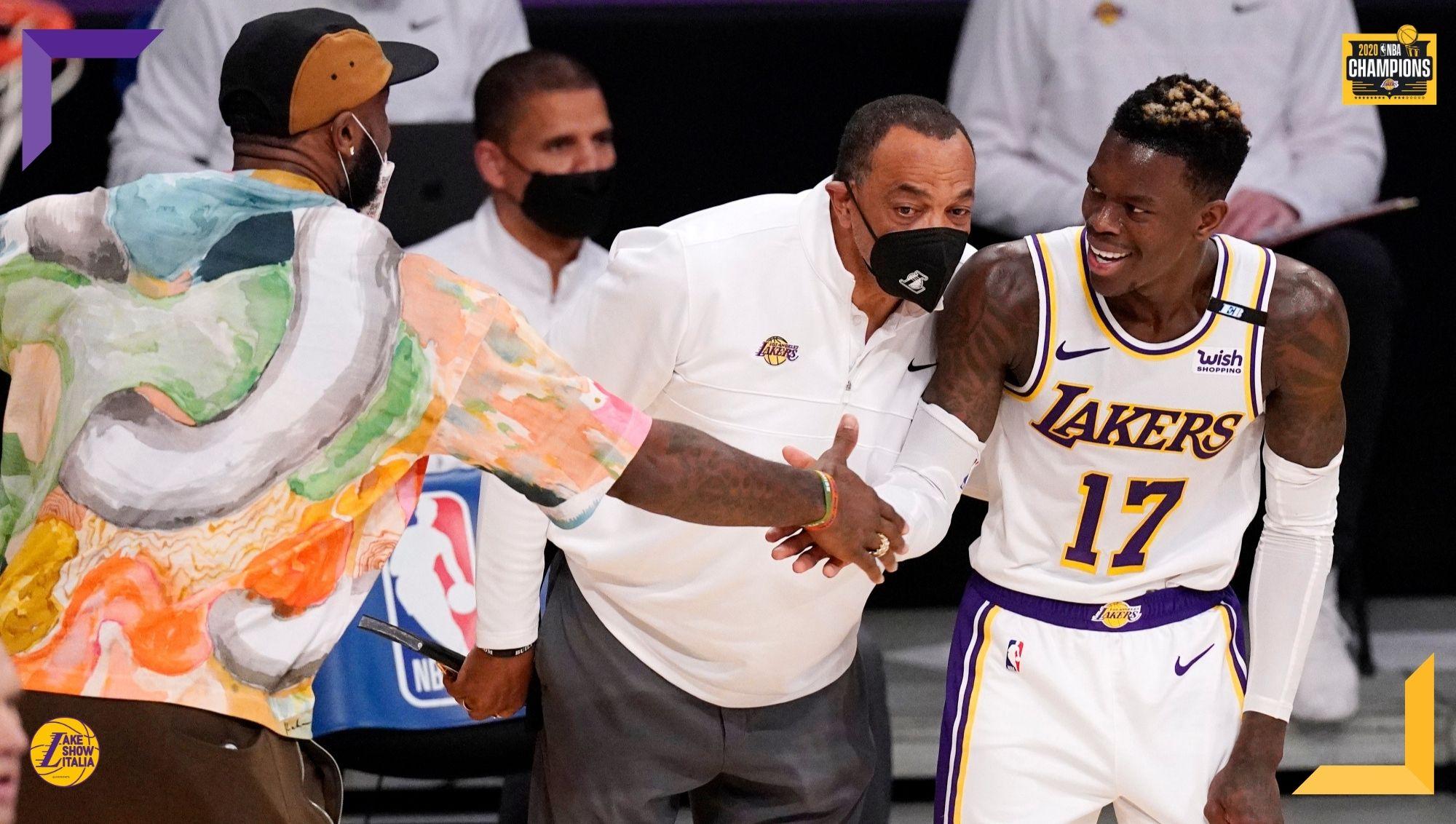 Ai Los Angeles Lakers serve un overtime per avere la meglio degli Utah Jazz. Nel finale si accende Dennis Schröder, bene anche Drummond e KCP.