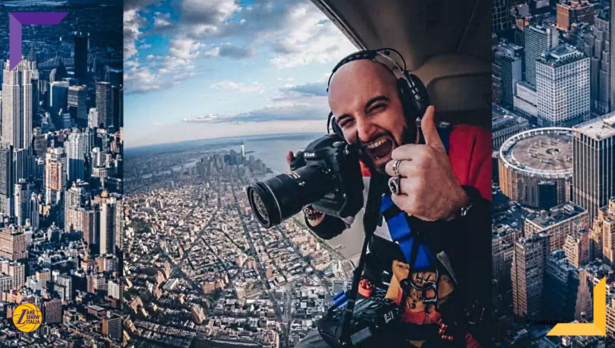Intervista a Matteo Marchi, fotografo imolese entrato a far parte del team ufficiale dei New York Knicks e tra i più apprezzati in NBA.