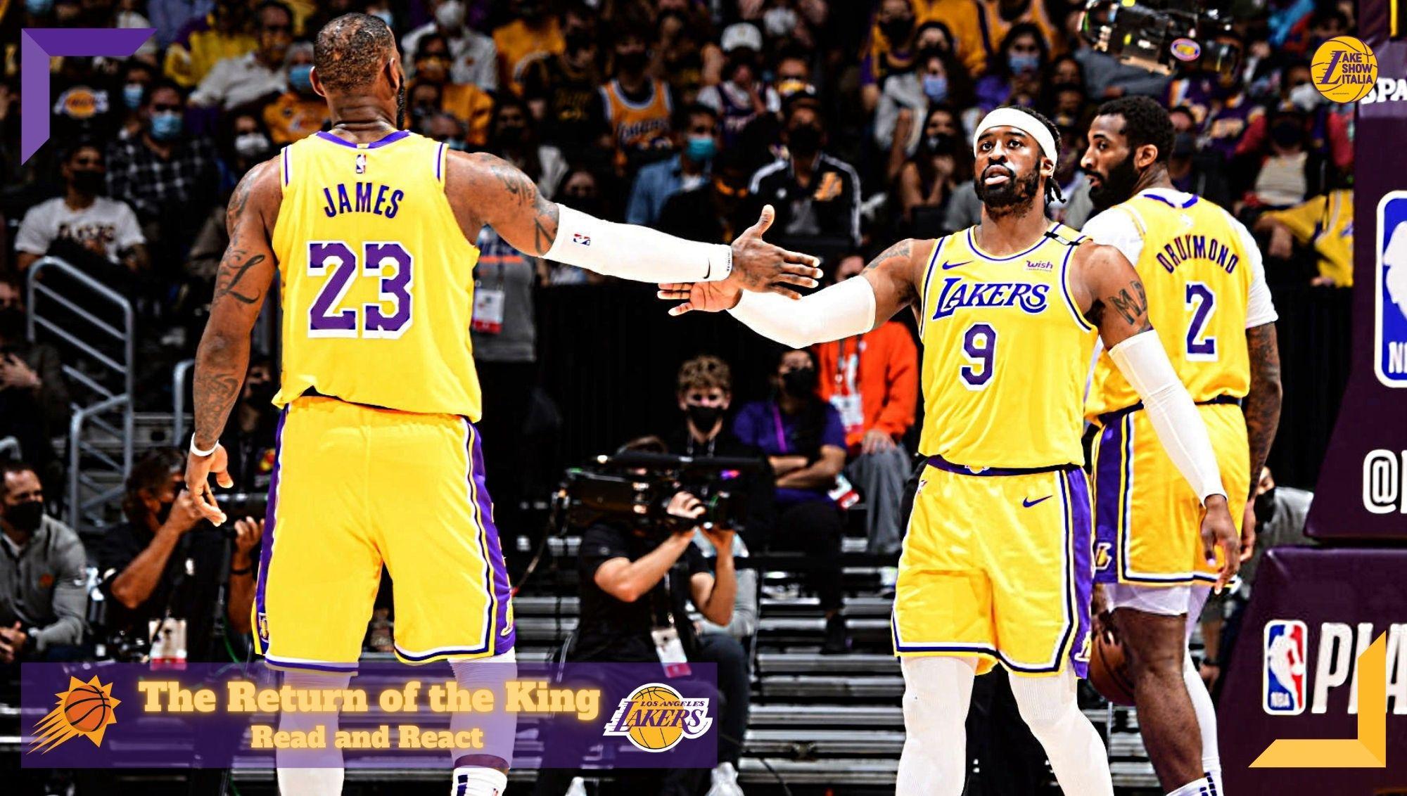 Il terzo quarto esplosivo di James & Davis e il breakdown della prova difensiva di Matthews nella vittoria dei Lakers in gara 3 contro i Suns.