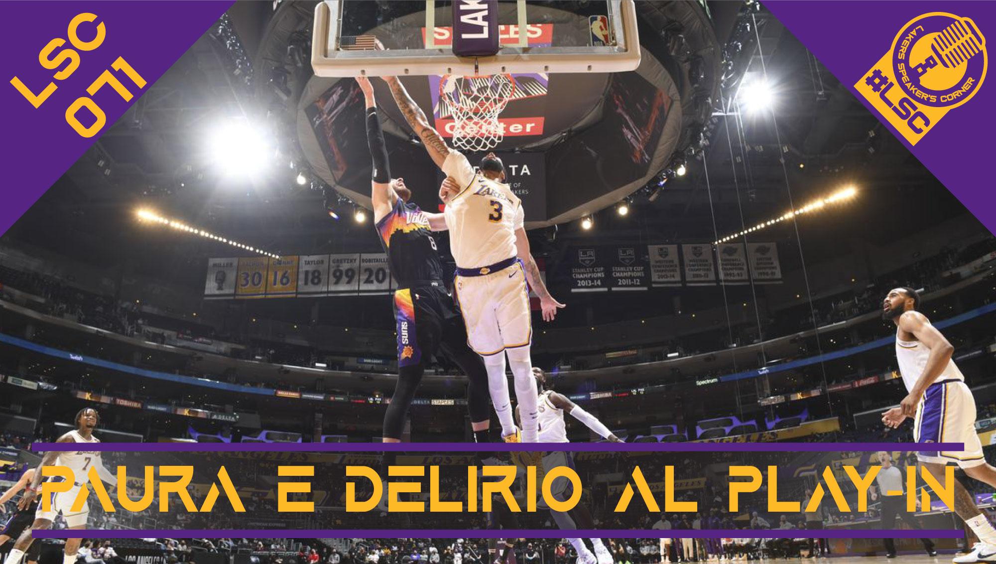 La settimana da antologia di Anthony Davis, i candidati dei Lakers per gli All Defensive-Team e le prospettive gialloviola al play-in.