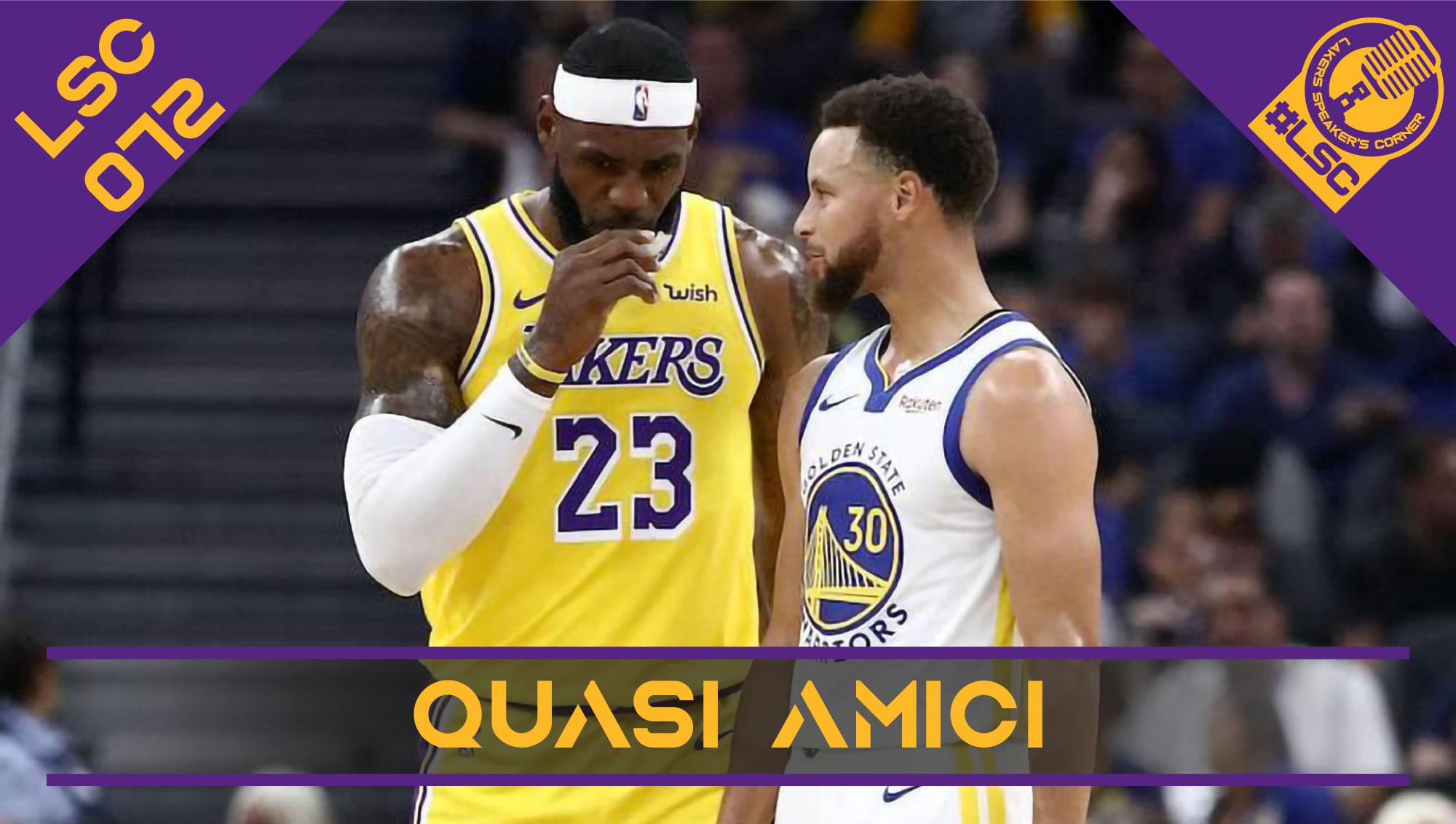 Le ultime partite di regular season e la preview del play-in tra Lakers e Warriors, con un focus sulla possibile strategia difensiva gialloviola su Steph Curry.