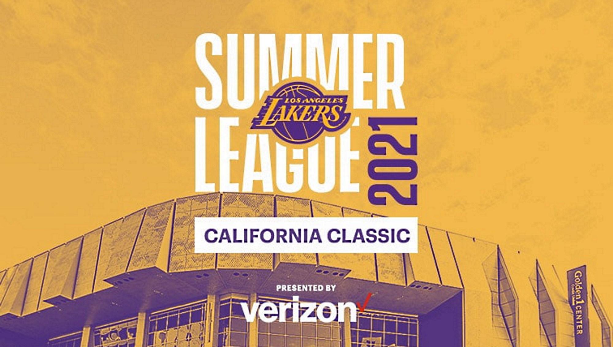 I Los Angeles Lakers parteciperanno alla terza edizione della California Classic Summer League di Sacramento, preludio al torneo di Las Vegas.