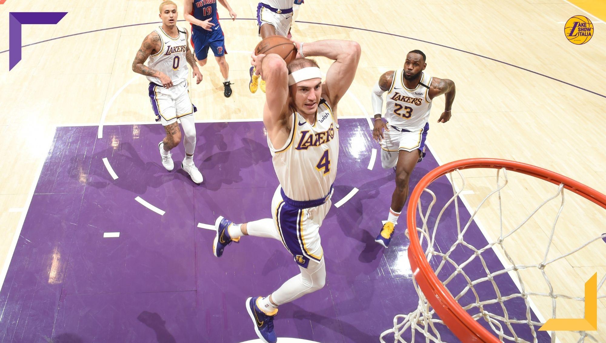 I Los Angeles Lakers decidono di non superare l'offerta dei Bulls e perdono Alex Caruso. Ennesimo asset gialloviola non capitalizzato.