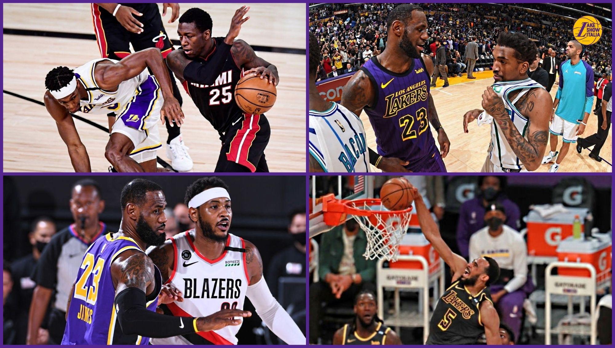 I Lakers rinnovano Talen Horton-Tucker e firmano Carmelo Anthony, Kendrick Nunn e Malik Monk. Marc Gasol giocherà un altro anno a Los Angeles.