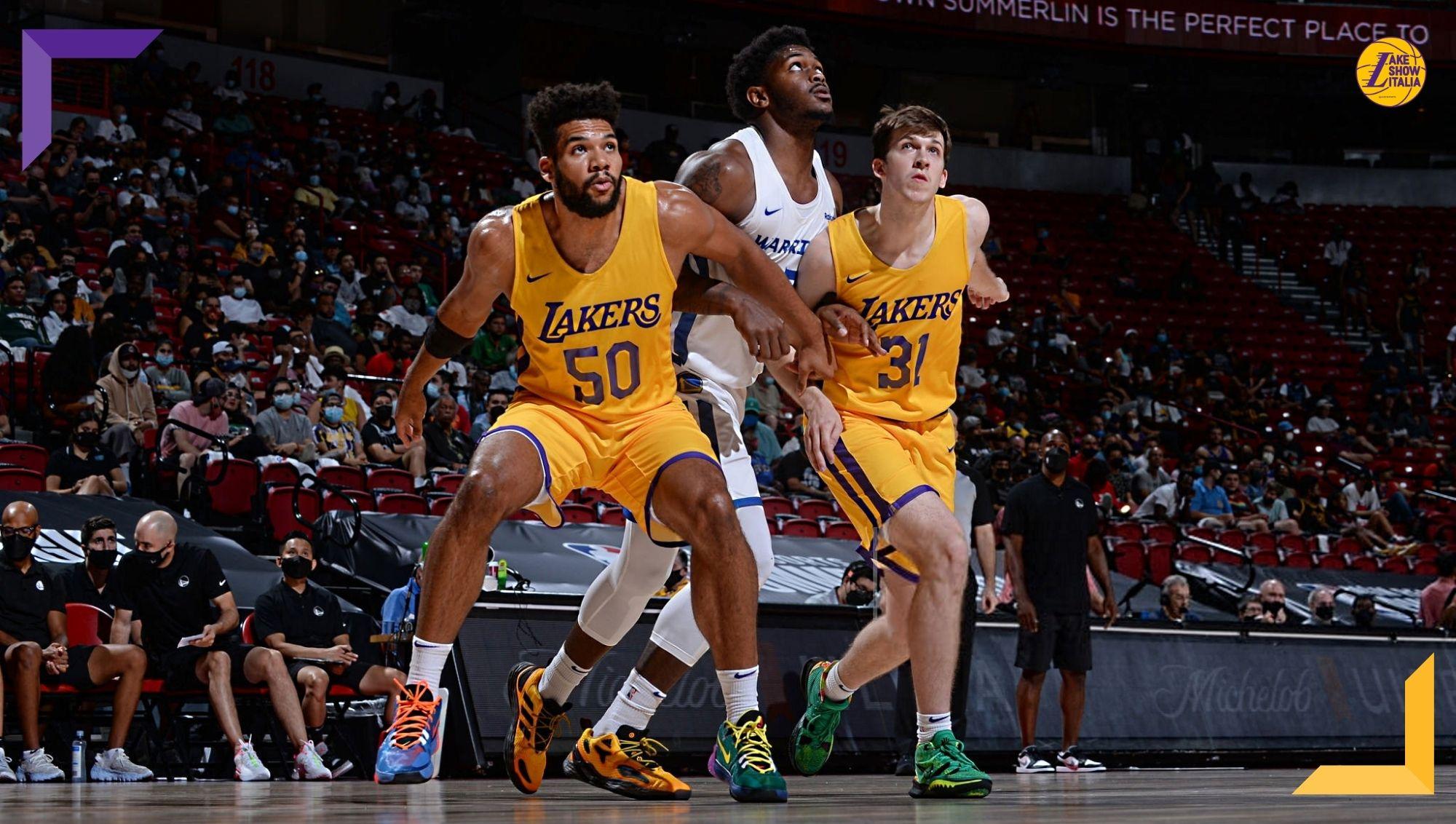 I Lakers ritrovano il successo contro gli Warriors nell'ultima uscita della Summer League. Ottima prestazione per Trevelin Queen, bene Brown.