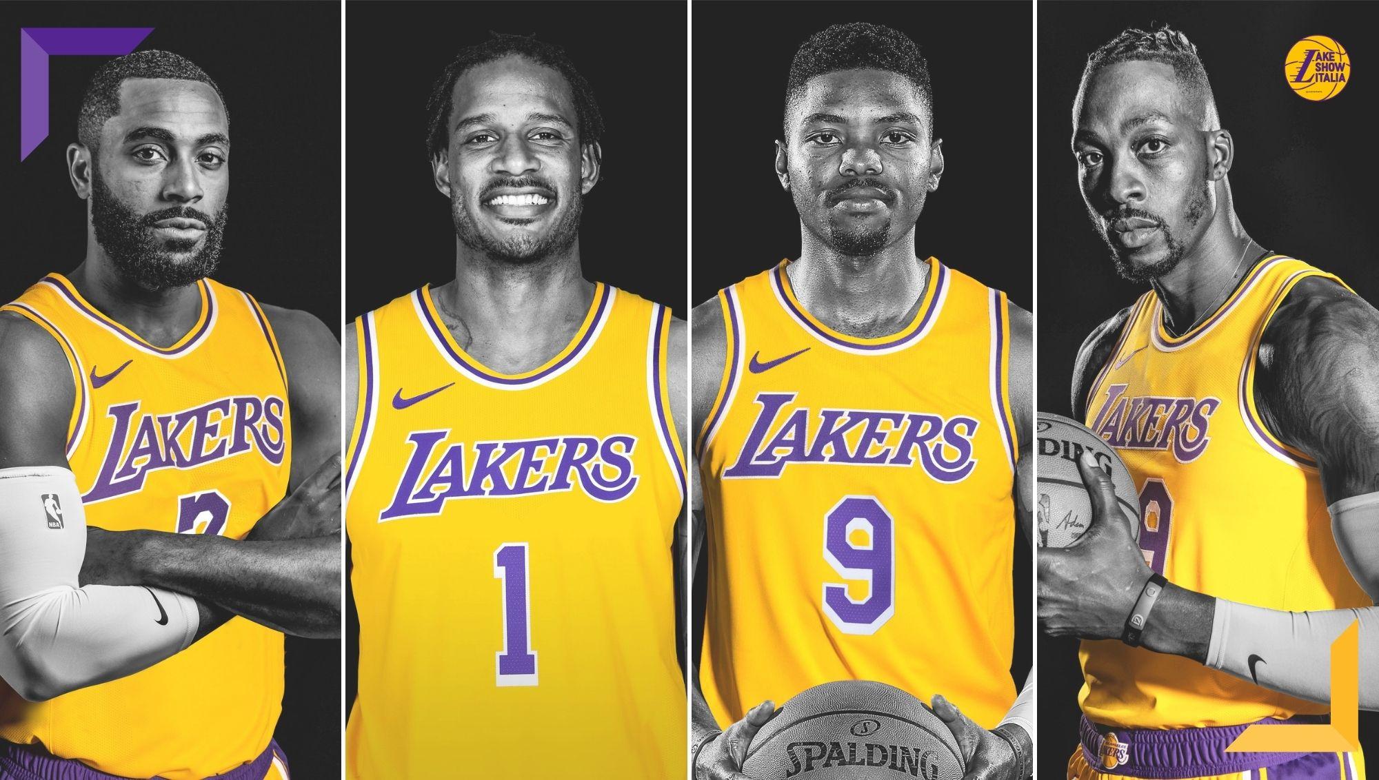 Il General Manager Rob Pelinka ha annunciato i ritorni di Trevor Ariza, Kent Bazemore, Wayne Ellington e Dwight Howard ai Los Angeles Lakers.