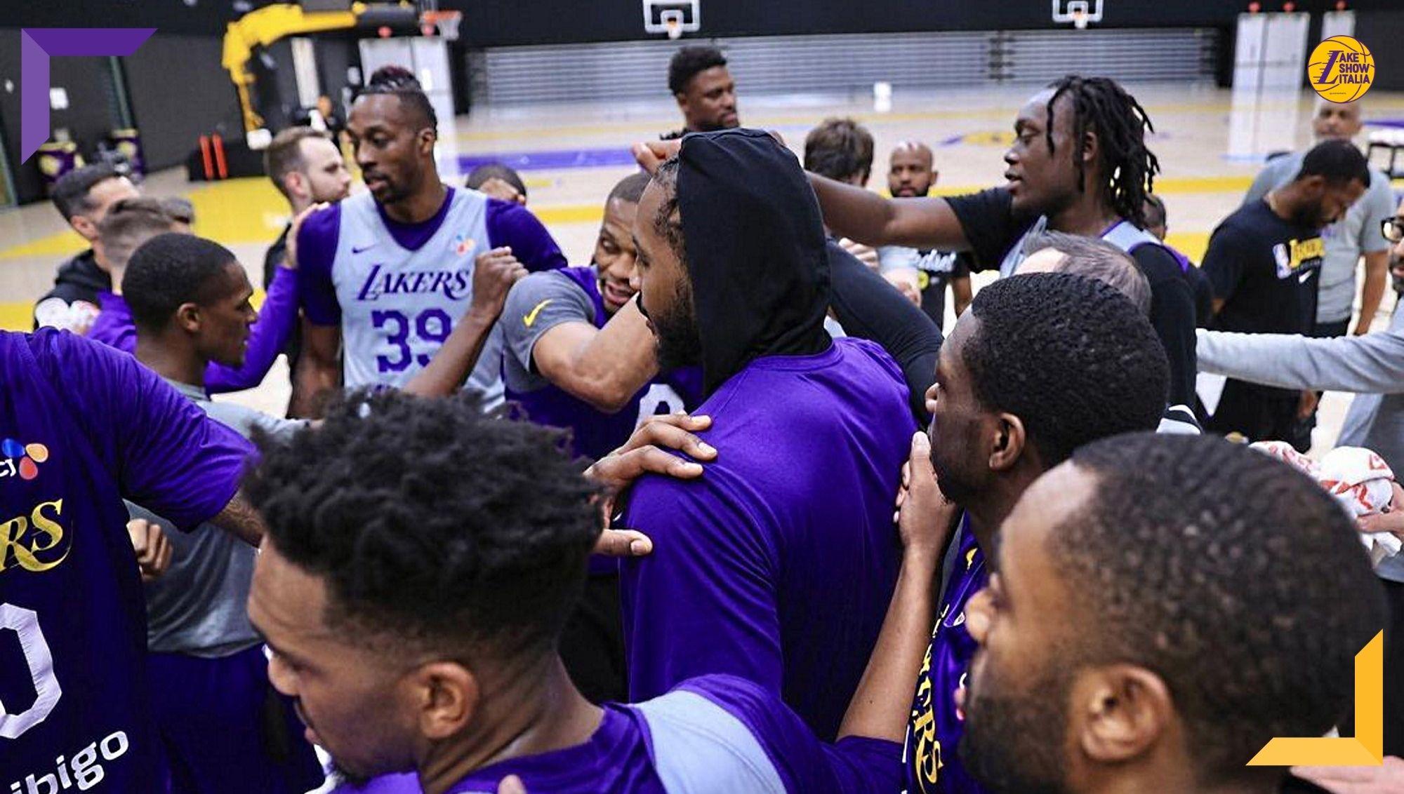 Carmelo Anthony non ha dubbi, i Lakers e Westbrook saranno pronti per l'esordio. Frank Vogel parla delle condizioni di Ellington, Nunn e Monk.