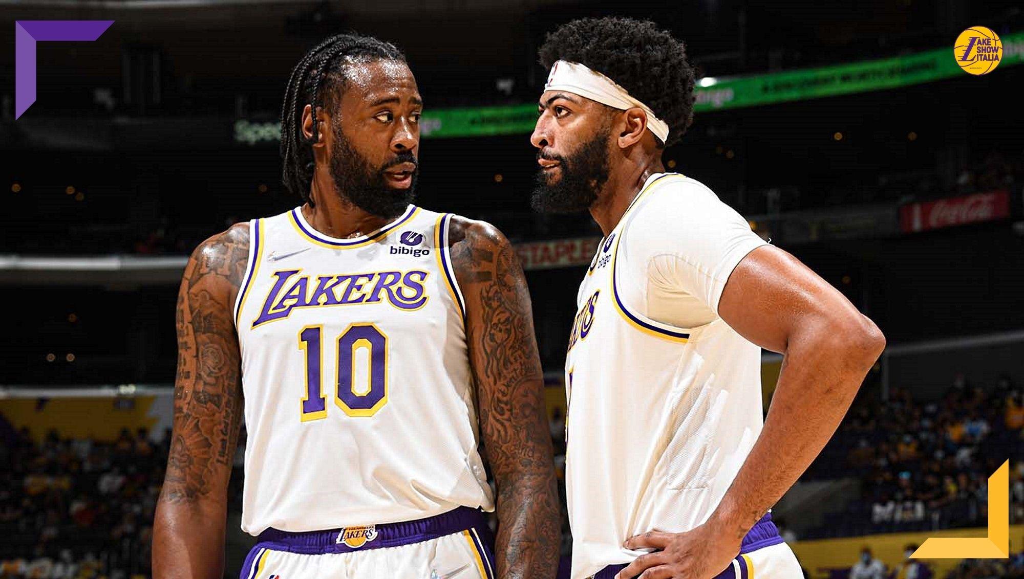 I Nets superano i Lakers nella prima gara della preseason. Dopo tre quarti equilibrati Brooklyn dilaga nel finale. Davis unico big in campo.