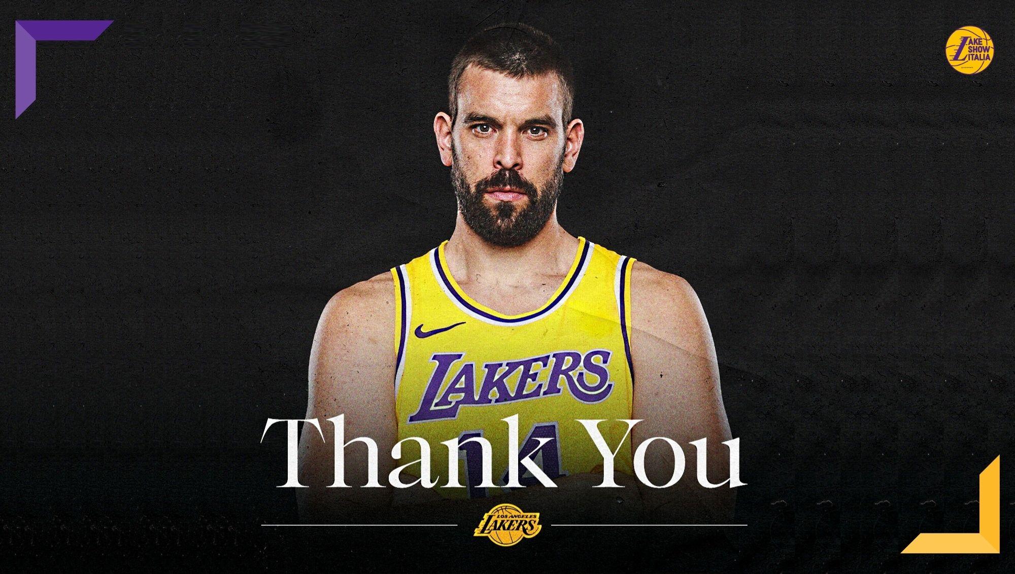 I Lakers hanno ceduto Marc Gasol ai Grizzlies. Si chiude dopo un anno di incomprensioni l'avventura del centro catalano in California.