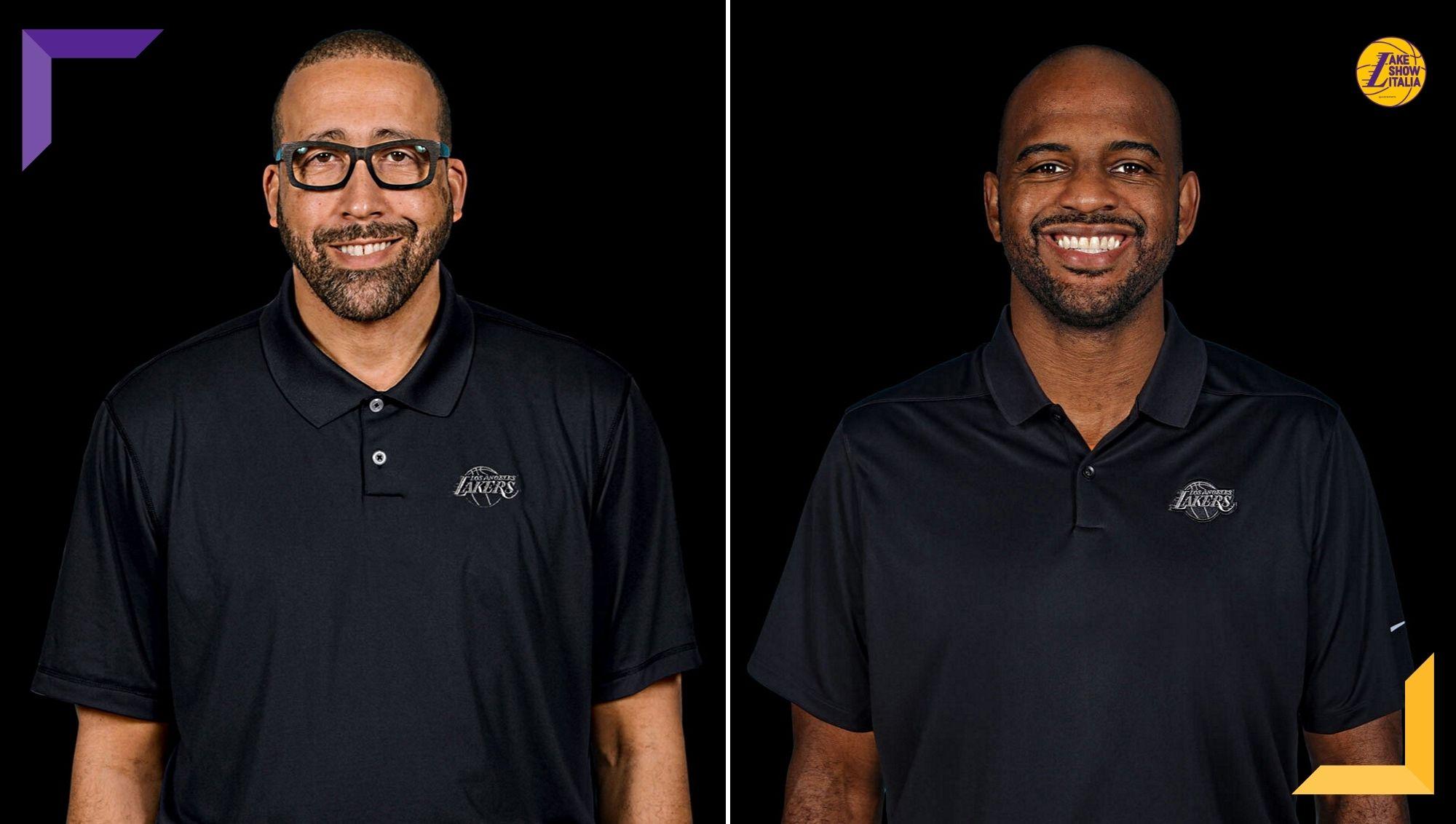 David Fizdale e John Lucas III nello staff dei Los Angeles Lakers. Annunciato anche Roger Sancho, nuovo preparatore atletico Gialloviola.