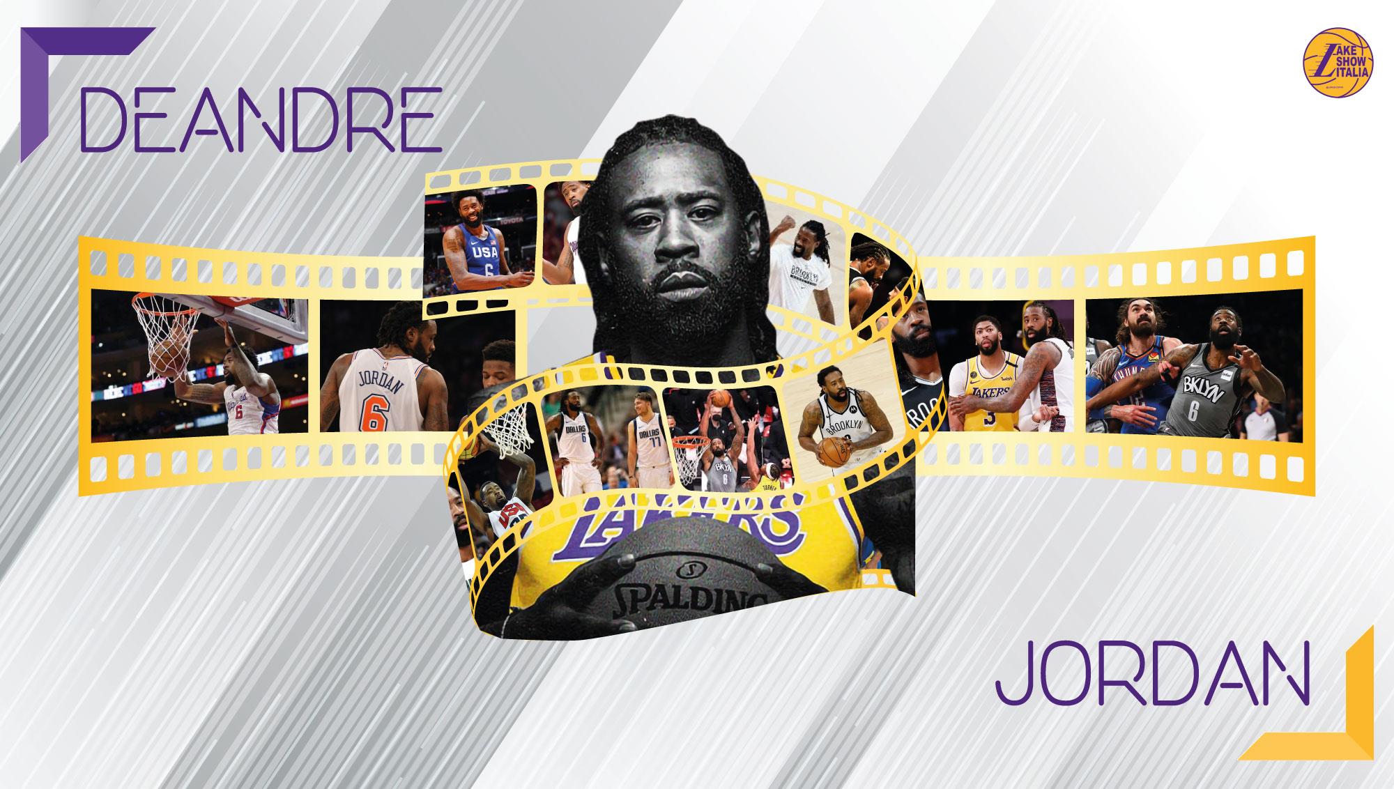 DeAndre Jordan non ha più l'atletismo dei primi anni a Los Angeles, ma con blocchi e schiacciate è pronto a contribuire alla causa dei Lakers.