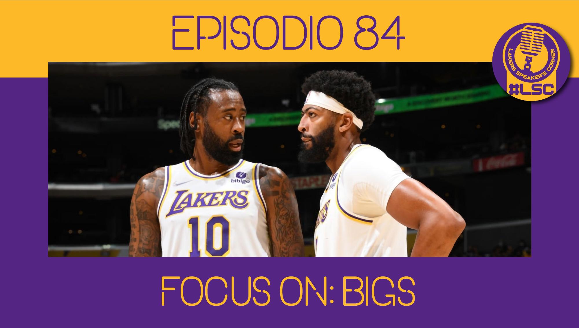 Prosegue la presentazione del roster dei Los Angeles Lakers. È il momento dei lunghi: Anthony Davis, Dwight Howard e DeAndre Jordan.